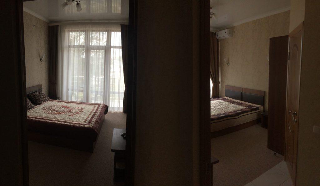 Номер Семейный Отель Крым Береговое Феодосия